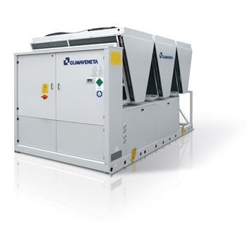 Air to water reversible heat pumps with total heat recovery