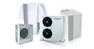 Optimized heat pumps for heating
