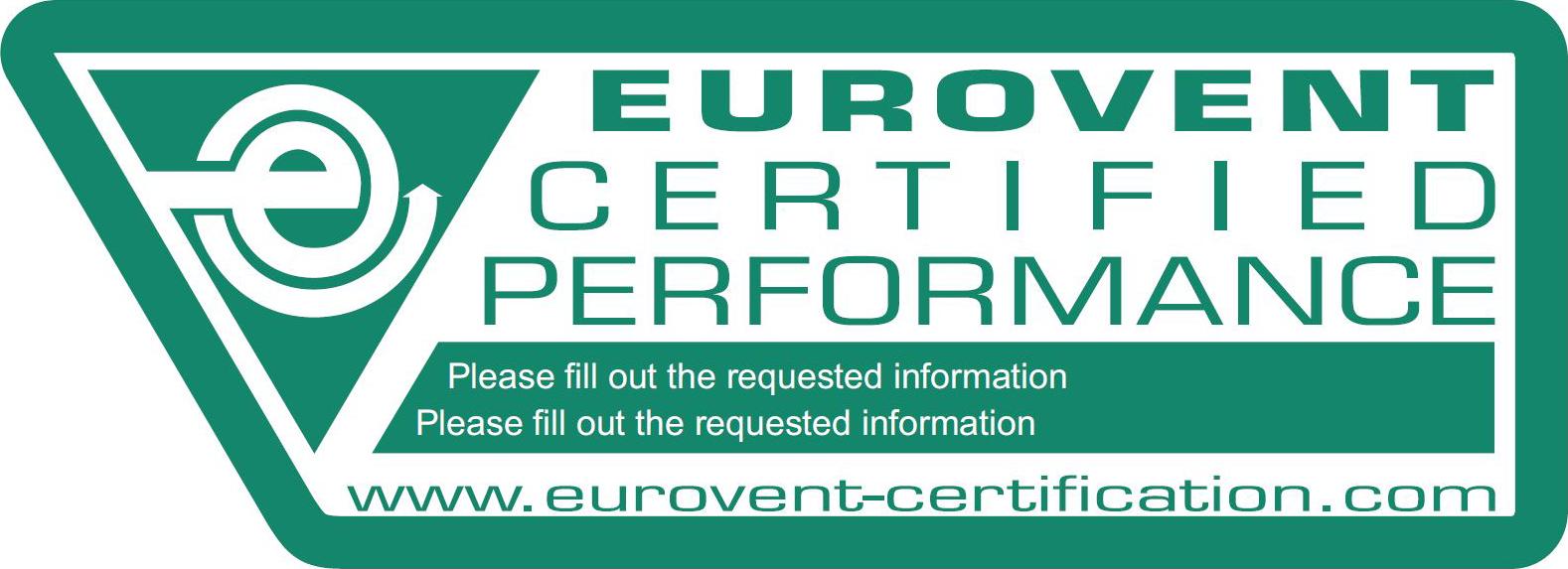 Certificare Eurovent