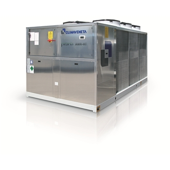 Air to water reversible heat pumps optimized for heating